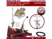 American Shifter Company ASCS2C2F32D1H FMX Shifter Kit 8 E Brake Cable Trim Kit Dipstick For E1617