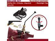 C4 Shifter Kit 12 E Brake Trim Kit Dipstick For D8CBB mercury falcon cortina fairlane torino maverick capri ford mustang thunderbird granada montego lincolns mo
