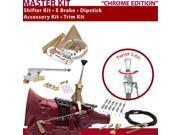 American Shifter Company ASCS1C1C41J1G 45RFE Shifter Kit 6 E Brake Cable Clamp Trim Kit Dipstick For D393D