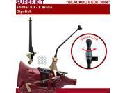 American Shifter Company ASCS2B4F31B1X FMX Shifter Kit 12 E Brake Dipstick For CD320