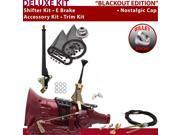 American Shifter Company ASCS1B1G62L0M TH350 Shifter Kit 6 E Brake Cable Clevis Trim Kit For EC4D0 caprice malibu van gm nova chevrolet chevelle camaro monte ca