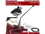 C4 Shifter Kit 16 E Brake Cable Clamp Clevis Trim Kit For DA765 ltd fairlane lincolns maverick mercury cougar monarch montego cortina fairmont ranchero granada