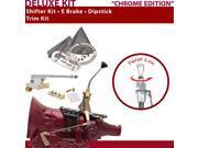 American Shifter Company ASCS2C2F31C1L FMX Shifter Kit 8 E Brake Trim Kit Dipstick For C9C4F