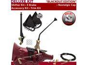 American Shifter Company ASCS1B4G42D0D TH400 Shifter Kit 12 E Brake Cable Trim Kit For F1222