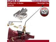 American Shifter Company ASCS1C6F32C0M FMX Shifter Kit 23 E Brake Trim Kit For F3ECE