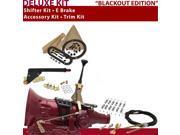 American Shifter Company ASCS1B1G21J0G 4L60E Shifter Kit 6 E Brake Cable Clamp Trim Kit For D441F