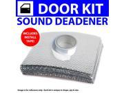 Zirgo ZIR79601 Heat & Sound Deadener Ford Minivan 1986 - 1907 2 Door Kit + Seam Tape 3609Cm2
