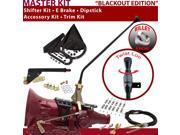 American Shifter Company ASCS2B6F32J1C FMX Shifter Kit 23 E Brake Cable Clamp Trim Kit Dipstick For E8339