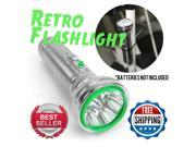 Vintage Parts USA Flash Light 1058913 1947 - 1954 Mopar Chrysler Chrome Retro Vintage Flashlight w/ 5 LEDs