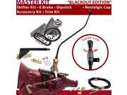 American Shifter Company ASCS2B7F31F1M FMX Shifter Kit 23 Swan E Brake Cable Trim Kit Dipstick For D2448