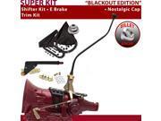 American Shifter Company ASCS1B7F32C0D FMX Shifter Kit 23 Swan E Brake Trim Kit For F5AA5