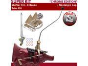 American Shifter Company ASCS2C7F32B0H FMX Shifter Kit 23 Swan E Brake Trim Kit For E9CE0
