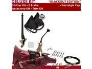 C4 Shifter Kit 8 E Brake Cable Clamp Clevis Trim Kit For D5648 ford f-series ranchero comet maverick mustang thunderbird monarch torino lincolns bronco falcon m