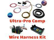 Keep It Clean Wiring Accessories Wire Harness 1022684 1967 - 1968 Chevrolet Chevelle GTO LeMans Ultra Pro Wire Harness System 12 Fuse