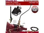 700R4 Shifter Kit 23 Swan E Brake Cable Clevis Trim Kit For F64E1 k series c series pickups bravada impala buick caprice pontiac blazers camaro roadmaster broug