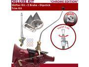 American Shifter Company ASCS2C7F32B1L FMX Shifter Kit 23 Swan E Brake Trim Kit Dipstick For E9D27