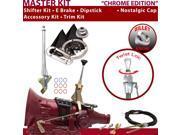 C4 Shifter Kit 6 E Brake Cable Trim Kit Dipstick For F7F35 ranchero comet monarch cortina mercury falcon thunderbird fairmont granada f-series ltd mustang monte