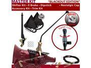 American Shifter Company ASCS2B5F32E1D FMX Shifter Kit 16 E Brake Cable Trim Kit Dipstick For E680B