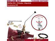 700R4 Shifter Kit 12 E Brake Cable Dipstick For D9923 c series astro van corvette pontiac sonoma fleetwood k series brougham g series vans buick blazers firebir