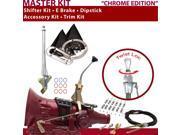 C4 Shifter Kit 8 E Brake Cable Clamp Trim Kit Dipstick For C985A capri mustang falcon ranchero thunderbird ford fairmont mercury cortina montego monarch granada