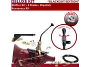 American Shifter Company ASCS2B3G42M1X TH400 Shifter Kit 10 E Brake Cable Clevis Dipstick For E3AED