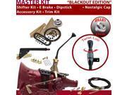 C4 Shifter Kit 10 E Brake Cable Trim Kit Dipstick For F818C thunderbird monarch maverick cortina mustang bronco fairlane ltd ford fairmont torino ranchero zephy