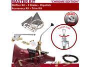 American Shifter Company ASCS2C3G42F1L TH400 Shifter Kit 10 E Brake Cable Trim Kit Dipstick For E3961