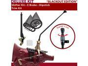 American Shifter Company ASCS1B5F31B1L FMX Shifter Kit 16 E Brake Trim Kit Dipstick For DAB13
