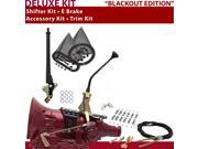 C4 Shifter Kit 10 E Brake Cable Clamp Clevis Trim Kit For D7147 thunderbird maverick zephyr comet fairlane granada ranchero mercury torino bronco ltd montego li