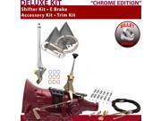 American Shifter Company ASCS2C1G42H0L TH400 Shifter Kit 6 E Brake Cable Clamp Trim Kit For E037C