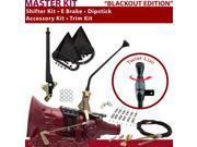 700R4 Shifter Kit 12 E Brake Cable Clamp Clevis Trim Kit Dipstick For D9AA3 3/4 ton astro van firebird surburban pickups blazers caprice roadmaster chevrolet br