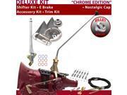 American Shifter Company ASCS2C6F32H0M FMX Shifter Kit 23 E Brake Cable Clamp Trim Kit For E8201
