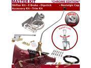 American Shifter Company ASCS2C7F32J1M FMX Shifter Kit 23 Swan E Brake Cable Clamp Trim Kit Dipstick For E9D08