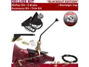 American Shifter Company ASCS2B4G42F0D TH400 Shifter Kit 12 E Brake Cable Trim Kit For E5576