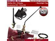 C4 Shifter Kit 16 E Brake Cable Clamp Trim Kit For E640A monarch zephyr ltd f-series lincolns montego mercury mustang granada ranchero cortina fairmont bronco f