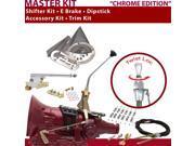 C4 Shifter Kit 10 E Brake Cable Clamp Trim Kit Dipstick For F6E7E falcon thunderbird comet ltd capri ranchero f-series mercury torino cougar cortina maverick fa