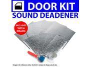 Zirgo ZIR796D4 Heat & Sound Deadener Dodge Challenger 2008 + 2Dr Kit + Tape, Roller 3537Cm2