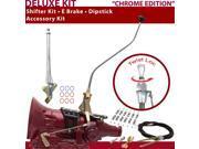 C4 Shifter Kit 23 Swan E Brake Cable Clamp Dipstick For F71E9 monarch ford maverick fairmont fairlane lincolns ltd falcon bronco comet mercury granada ranchero