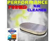 Vintage Parts USA ADX650193 1968 - 1972 Oldsmobile 15 Finned Performance Air Cleaner filter flow kit more