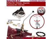 C4 Shifter Kit 12 E Brake Cable Trim Kit Dipstick For F81A4 comet capri cortina thunderbird mustang cougar zephyr fairmont ranchero f-series ltd monarch falcon