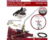 American Shifter Company ASCS2C6G42F1D TH400 Shifter Kit 23 E Brake Cable Trim Kit Dipstick For E8AAD