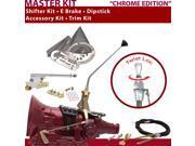 C4 Shifter Kit 12 E Brake Cable Trim Kit Dipstick For F6F50 mustang fairmont ford thunderbird lincolns mercury maverick ranchero comet capri f-series bronco ltd