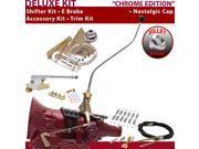 American Shifter Company ASCS2C7F32J0H FMX Shifter Kit 23 Swan E Brake Cable Clamp Trim Kit For E9D17