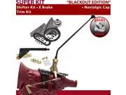 American Shifter Company ASCS1B5F32C0M FMX Shifter Kit 16 E Brake Trim Kit For F24AB