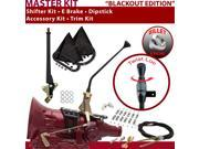 C4 Shifter Kit 12 E Brake Cable Clamp Clevis Trim Kit Dipstick For F7C16 zephyr mustang mercury falcon comet fairmont montego fairlane monarch capri granada mav