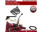 American Shifter Company ASCS2B2G42F0L TH400 Shifter Kit 8 E Brake Cable Trim Kit For E1F7B