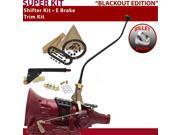 700R4 Shifter Kit 23 Swan E Brake Trim Kit For EA82A c series pontiac astro van roadmaster caprice blazers surburban 3/4 ton cadillac g series vans pickups buic