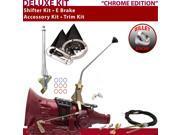 700R4 Shifter Kit 12 E Brake Cable Clevis Trim Kit For F13AD chevrolet cadillac surburban astro van corvette roadmaster brougham caprice fleetwood blazers picku