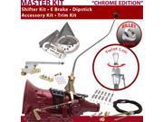 American Shifter Company ASCS1C7F32J1L FMX Shifter Kit 23 Swan E Brake Cable Clamp Trim Kit Dipstick For F59B2