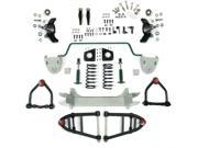 Helix Suspension Brakes and Steering HEXIFS1062390SBK2 Mustang II 2 IFS Front End kit for 36-50 Cadillac w Shocks Springs Swaybar